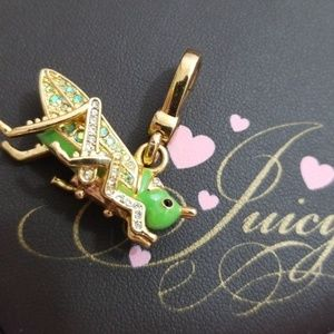 Juicy Couture RARE Green Grasshopper Charm